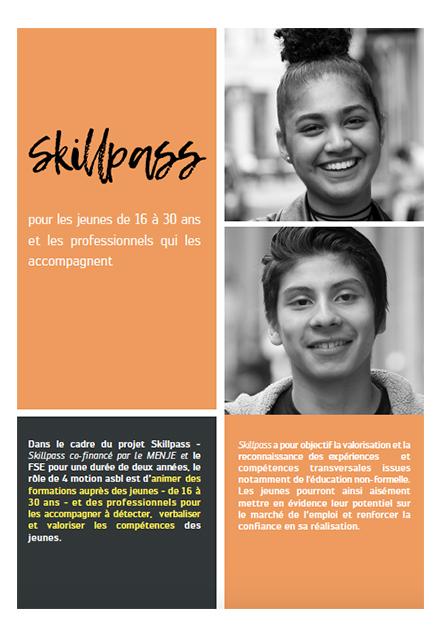 ATELIER DE VALORISATION DES COMPÉTENCES – SKILLPASS
