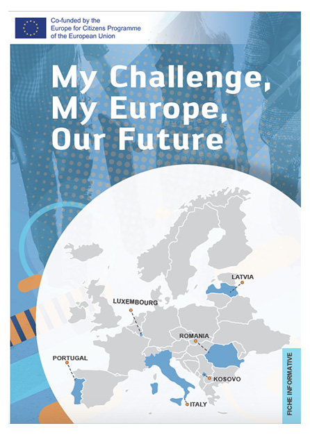 MY CHALLENGE, MY EUROPE, OUR FUTURE