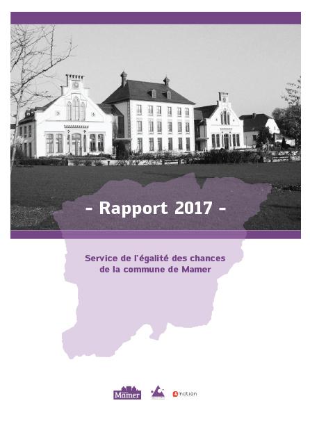 Rapport Mamer 2017