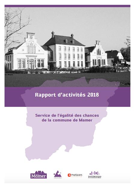 Rapport activités Mamer 2018